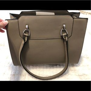 Classic Style Grey Purse